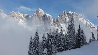 Inizia a sognare il tuo Inverno in Trentino <br>tra le Dolomiti
